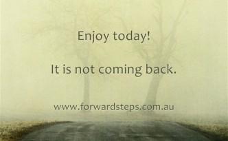 Enjoy Today Quotation Image