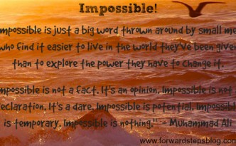 impossible is not a fact image