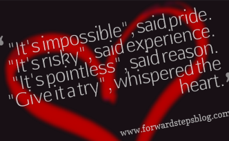 Whispered The Heart Quote Image
