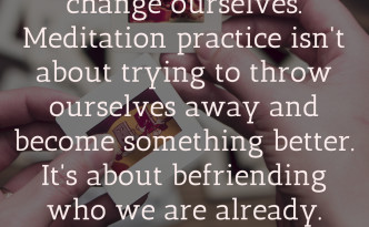 Befriending Who We Are Quotation feature image