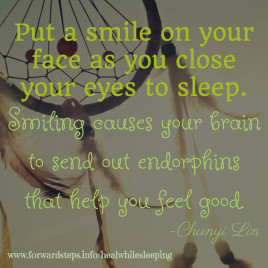 Smile Before You Sleep