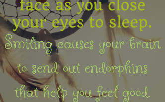 Smile As You Sleep Quotation Feature Image