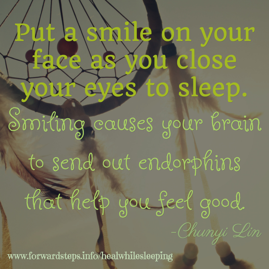Smile Before You Sleep