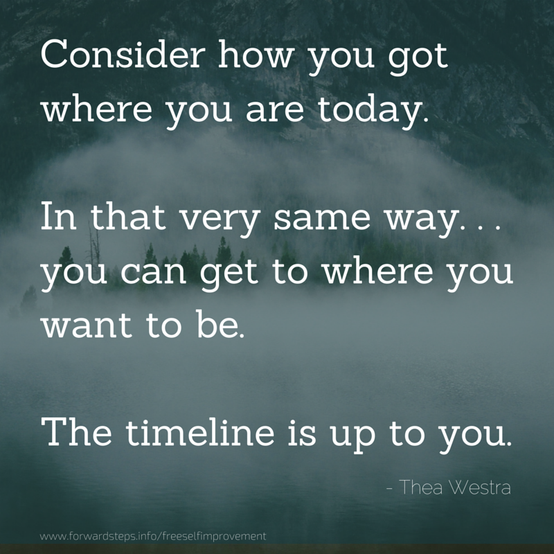 One New Habit At A Time quotation image