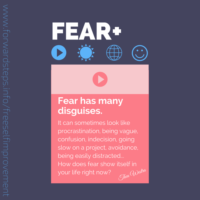 Fear has many disguises quote image