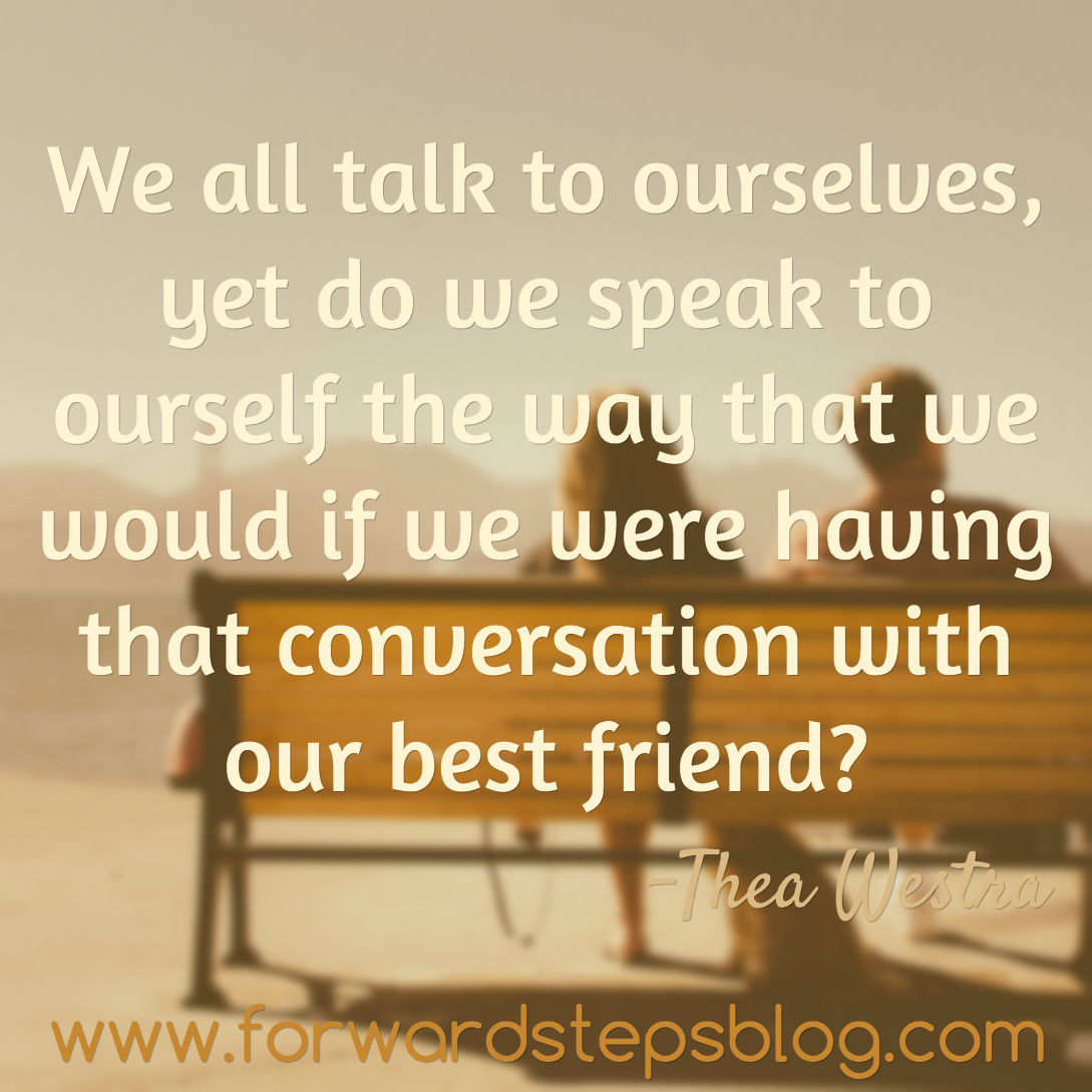 Talk With Your Best Friend Quote Image